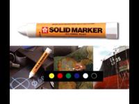 Maalikynä Sakura Solid Marker XSC-T valkoinen 12kpl ltk