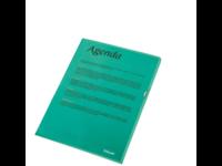 Muovitasku 120 Premium A4 PP vihreä LPS/10kpl/Pss