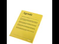 Muovitasku 120 Premium A4 PP keltainen LPS/10kpl/Pss