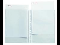 Kaksoistasku A4 PVC (2XA4)/10kpl/Pss