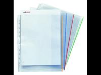 Patenttitasku A4 PP 0.18 valkoinen/100kpl/Ltk