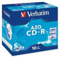 Verbatim CD-R 80min 700MB 52x, 1 kpl=10 levyä