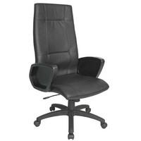 Intersthul Omegaline tuoli, nahka musta