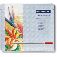 Staedtler karat aquarell värikynä lajitelma 24 kynää