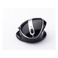 Oyster ergonominen hiiri, langaton musta/hopea