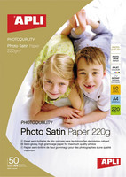 APLI PHOTO SATIN PRO PAPERI 240G A4/60