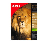 APLI PHOTO BRIGHT PRO PAPERI 240G A4/60