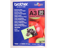 BROTHER GLOSSY PHOTOPAPERI A3/20 arkkia