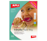 APLI EVERYDAY PHOTOPAPERI 180G 10X15/100kpl