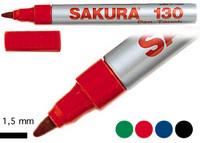 SAKURA PEN TOUCH 130 M 1,5MM MUSTA 12kpl