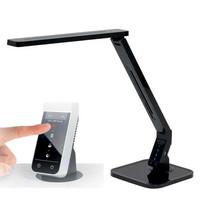 Touch led työvalaisin säädettävällä valoteholla, musta