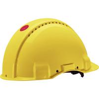 G3000 Uvicator kypärä 440V ruuvisäädöllä, keltainen