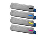 Tarvikekasettisetti Oki C830 N C810 N C830 CDTN C810 CDTN