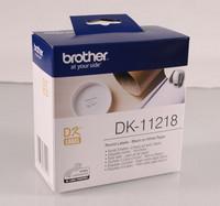 BROTHER DK-11218 PYÖREÄ TARRA 24MM/1200kpl