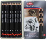 DERWENT GRAPHIC SKETCHING 9B-H /12kpl