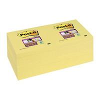 Post-it Super Sticky viestilappu 76x76mm, 1 kpl=12 nidettä