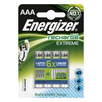 Energizer EXTREME AAA/HR03 Ladattava akku 4 kpl