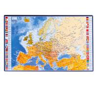 KIRJOITUSALUSTA EUROOPPA 36,5X59,5CM