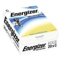 Energizer Advanced alkaliparisto C/LR14, 1kpl=20 paristoa
