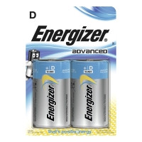 Energizer Advanced alkaliparisto D/LR20