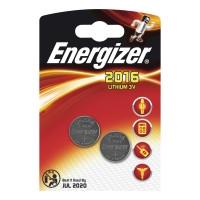 Energizer CR2016 litiumparisto 3v, 1kpl=2 paristoa