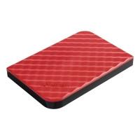 Verbatim 2.5 Ulkoinen kiintolevy USB 3.0 1TB punainen