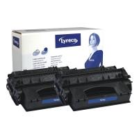 HP 80X CF280XD tarvikekasetti tuplapakkaus musta