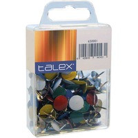 Talex nasta, värilajitelma, myyntierä 1 kpl = 100 nastaa