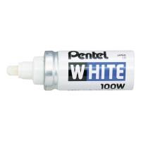 Pentel X100W maalikynä pyöreä 3,3 mm, valkoinen