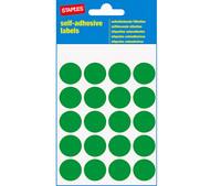 Pyöreä vihreä merkkaustarra halkaisija 19mm