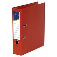 Mappi A4 80mm PP punainen 10kpl laatikko