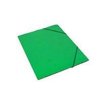 Kulmalukkokansio läpällinen A4 kartonki vihreä