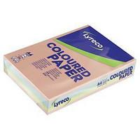 Väripaperilajitelma A4 80g 5 pastelliväriä, 1ltk=5 riisiä, 2500 arkkia