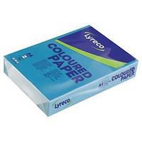 Värillinen kopiopaperi A4 80g voimakas sininen, 2500 arkkia = 1ltk