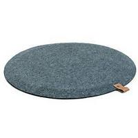 JobOut Design seisomatyöpistetamatto pyöreä 67cm tummanharmaa