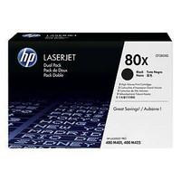 HP 80X CF280XD laservärikasetti dualpack musta, 1 kpl=2 kasettia