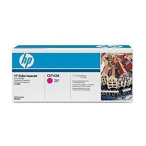HP 307A CE743A laservärikasetti magenta