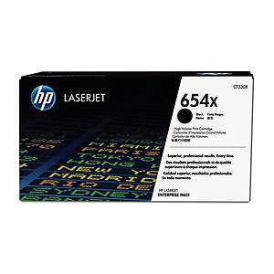 HP 654X CF330X laservärikasetti musta