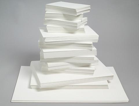 Piirustuspaperi kokolajitelma A5 A4 A3 A2 yhteensä 2350 arkkia