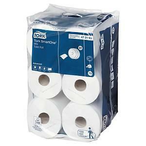 Tork Advanced SmartOne mini wc-paperi T9, 1 kpl=12 rullaa