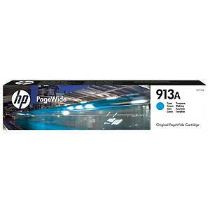 HP 913A F6T77AE mustesuihkupatruuna syaani sininen