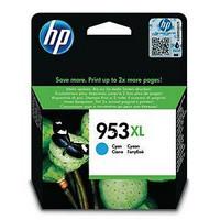 HP 953XL F6U16AE mustesuihkupatruuna sininen