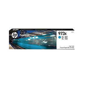 HP 973X F6T81AE mustesuihkupatruuna sininen