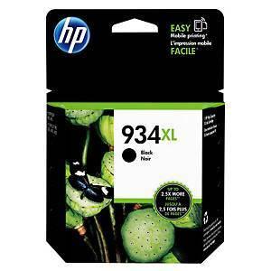 HP 934XL C2P23A mustesuihkupatruuna musta