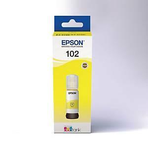Epson 102 mustesäiliö keltainen