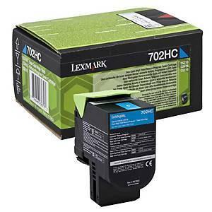 Lexmark 70C2HC0 702HC laservärikasetti syaani