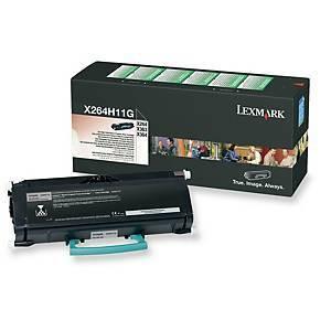 Lexmark X264H11G laservärikasetti musta