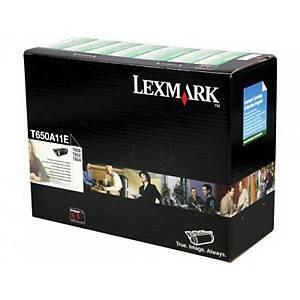 Lexmark T650A11E laservärikasetti musta