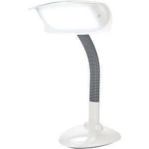 Lumie LED-pöytävalaisin valkoinen