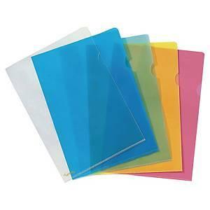 Premium muovitasku A4 150mic PP appelsiini sininen, 1 kpl=25 taskua